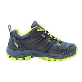 TROLLKIDS Rondane Hiker Low Shoes Kids, navy/lime